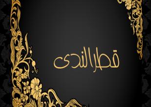 صورة بلوغ المنى بتقريب شرح قطر الندى