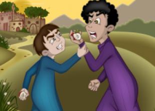 صورة قصة ثمرة الخلاف
