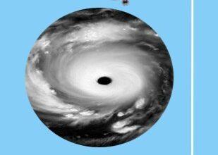 صورة حقيقة الثقوب السوداء في السماء