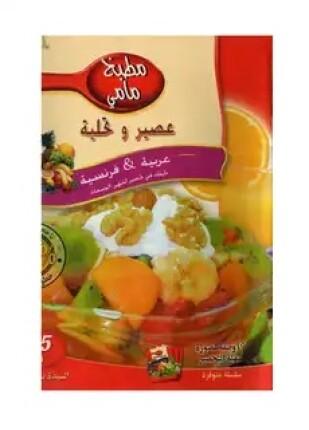 تحميل وقراءة كتاب عصير وتحلية تأليف مطبخ مامى pdf مجانا