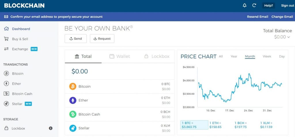 موقع blockchain
